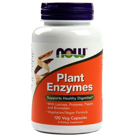 Now Enzyme Detox by Now Foods Plant Enzymes 120 Vcapsules Evitamins