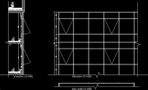 jobs panels glass dwg block  autocad designs cad