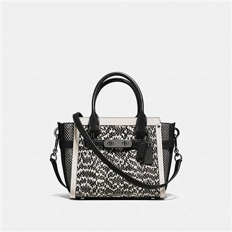New Arrival Coach Swagger Mini coach coach swagger 21 in snake