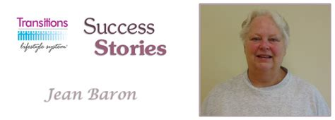 Transitions Lifestyle System Detox by Transitions Lifestyle System Success Stories Jean Baron