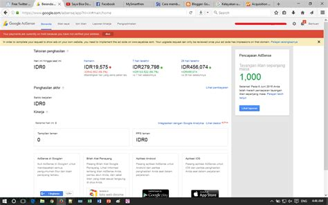 adsense balance not updating waktu tunggu finalized earnings google adsense dari