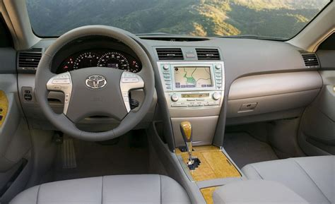 2009 Toyota Camry Interior Car And Driver