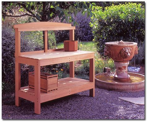 lowes potting bench potting benches lowes room ornament potters bench