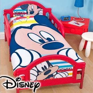 Mickey Mouse Bed Frame Buy Disney Mickey Mouse Toddler Bed Frame At Home Bargains