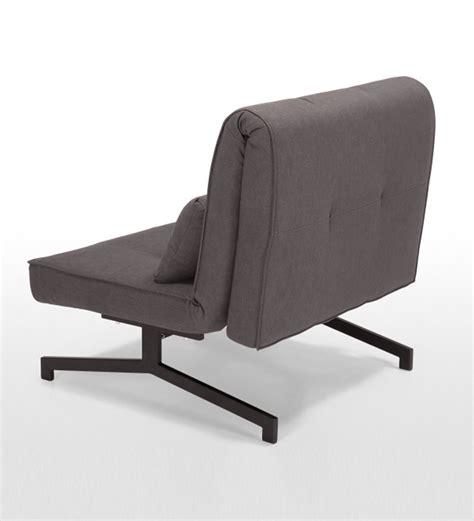 sofa cum chair single chair sofa cum bed dark grey by furny online sofa