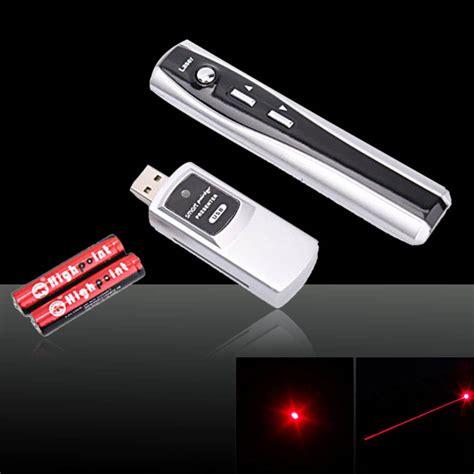 Usb Remote Laser Pointer 1mw 650nm usb wireless presentation remote laser