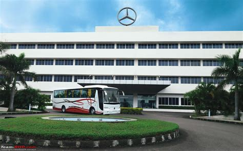 mercedes benz launches intercity coaches    axle team bhp
