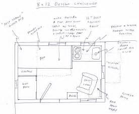 8x12 bathroom floor plans dennis main s 8x12 tiny house design
