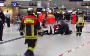 axe attack in germany dusseldorf attack horror as axeman injures seven daily