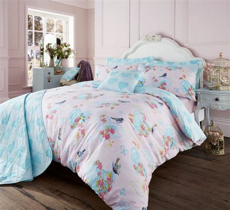 Beautiful Bed Sets Beautiful Duvet Cover With Pillowcase Quilt Cover Vintage Bird Bed Set Ebay