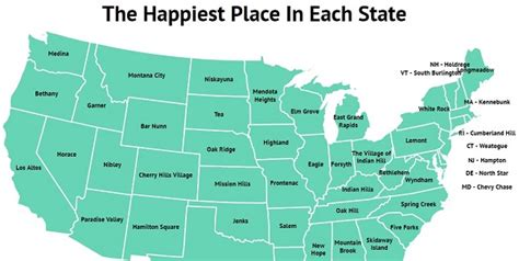 happiest states to live in the most commonly used and totally weird resume interests in each state zippia