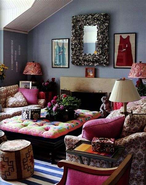 modern global style photo 40 magical boho home decoration ideas