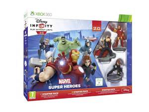 Disney Infinity Xbox 360 Disney Infinity 2 0 Marvel Heroes Starter Pack For