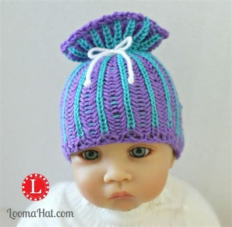 paper bag hat pattern 17 best images about loom knit baby on pinterest free
