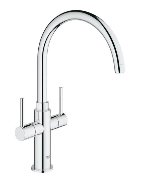 Kitchen Mixer Tap 28 Images Grohe Ambi Cosmopolitan Two Lever Sink Mixer Tap With Swivel Spout