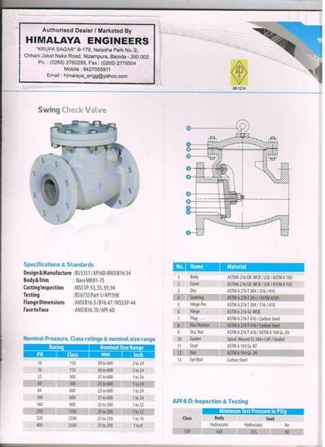 swing check valve application swing check valve swing check valve exporter