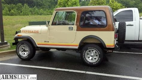 Jeep Cj7 Renegade For Sale Armslist For Sale 1982 Jeep Cj7 Renegade