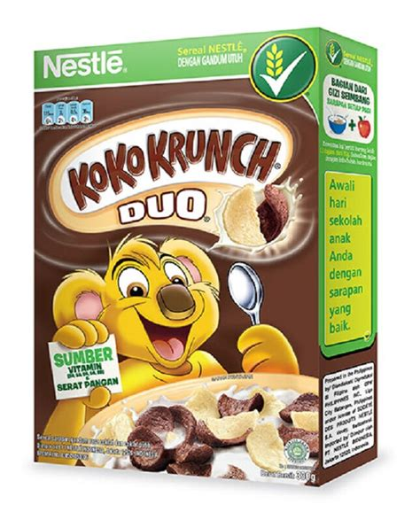 Koko Krunch Duo 330 Gram jual koko krunch duo cereal 330g jd id