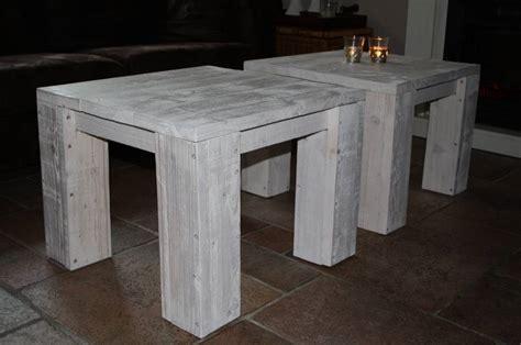 salontafel steigerhout eindhoven salontafel white washen msnoel