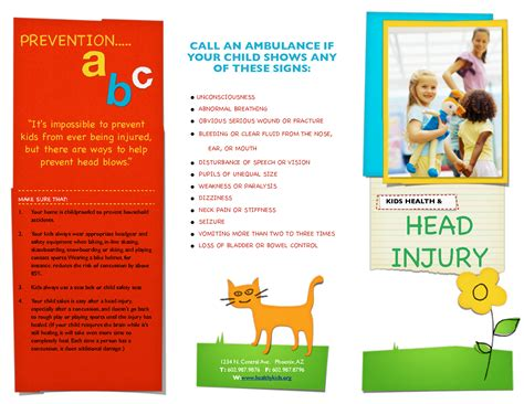 7 Best Images Of Pediatric Brochure Text Pediatric Office Brochure Exles Pediatric Free Pediatric Brochure Templates