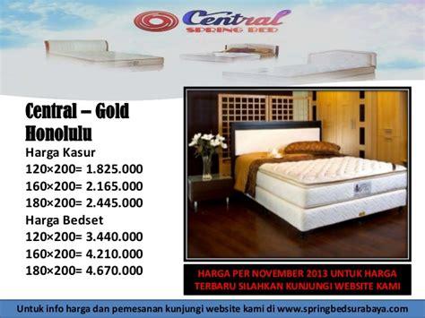 Kasur Central Surabaya harga bed central surabaya