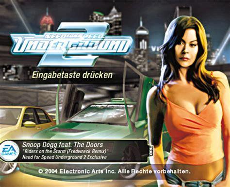 Schnellstes Auto Underground 2 by Need For Speed Underground 2 Cheats Pc Rennspiel