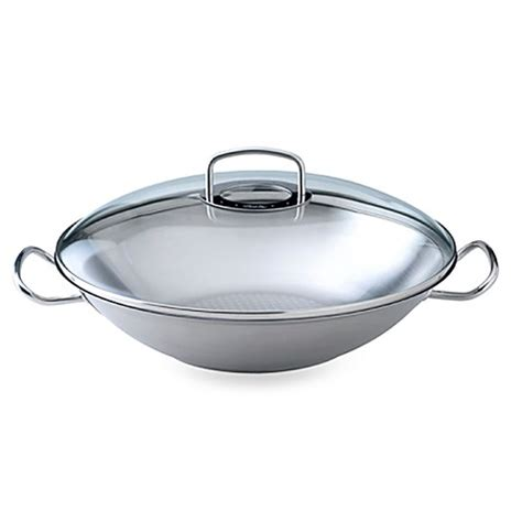 Multi Use Wok fissler original pro collection 13 8 inch covered wok with