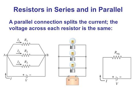 resistors in parallel or series dc circuits chapter 26 opener these mp3 players contain circuits that are dc at least in part