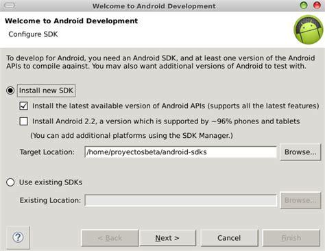 tutorial android eclipse luna instalar la 250 ltima versi 243 n de android en eclipse 4 4 0