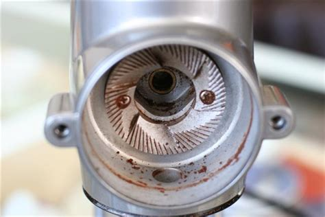 modifying kitchenaid proline to hold mazzer mini burrs