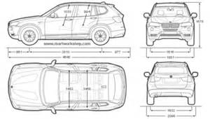 Length Of Bmw X3 Bmw X3 Size
