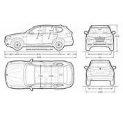 BMW Blueprints  Bmw X3 Xdrive 20d 2010 Free Textures And