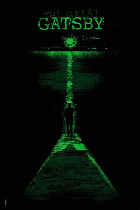 symbolism of great gatsby cover the green light at the end of the dock is described by