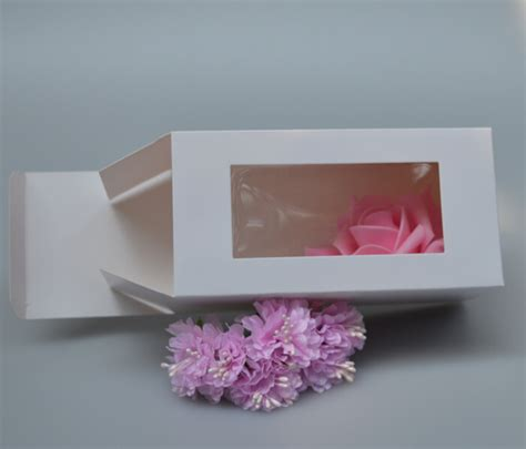 cardboard box with window cardboard window gift boxes promotion shop for promotional
