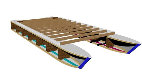 pontoon boat plans kits pontoon boat plans easy to build from common lumber get