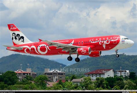 airasia thailand hs abj airasia thailand airbus a320 at chiang mai