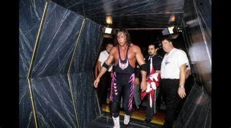 wwe backstage curtain bret hart opens up about the infamous montreal screwjob