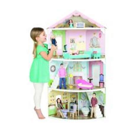 Attrayant Chambre De Petite Fille #9: .maison_pour_poupee_3_etages_convient_enfant_3_ans__4_ans__5_ans__6_ans__et_plus_cadeau_fille_noel_anniveraire_original_grande_maison_de_poupee_a_etage_avec_meubles_s.jpg