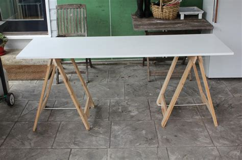 diy trestle table legs diy trestle legs oasis fashion