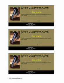 personal trainer gift certificate template fitness gift certificate freewordtemplates net