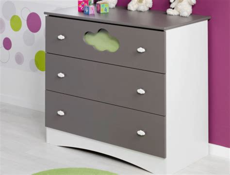 Commode Bb by Commode Pour Chambre Enfant Altea Taupe
