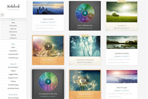 wordpress vertical layout 45 good wordpress themes with vertical menus kevin muldoon