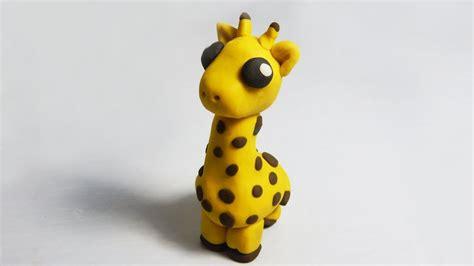 como hacer una jirafa en plastilina tutorial de c 243 mo hacer una jirafa de plastilina paso a paso f 225 cil