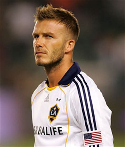 david beckham on soccer s fame in u s l a galaxy
