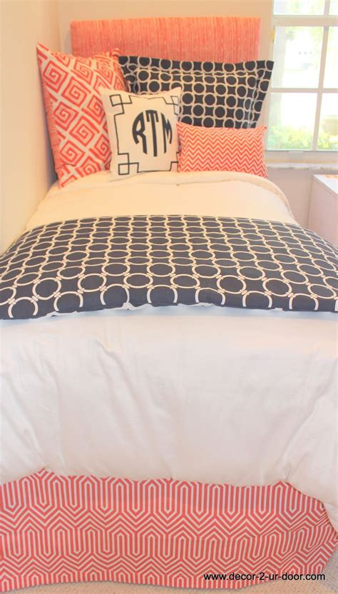 coral and navy bedding coral and navy dorm bedding set perfect for coordinated
