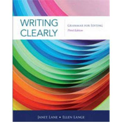 writing clearly proven writing skills books writing clearly janet 9781111351977