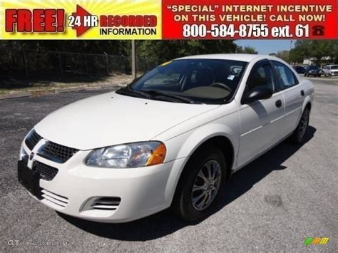 white dodge stratus 2004 white dodge stratus se sedan 54815460 photo 6
