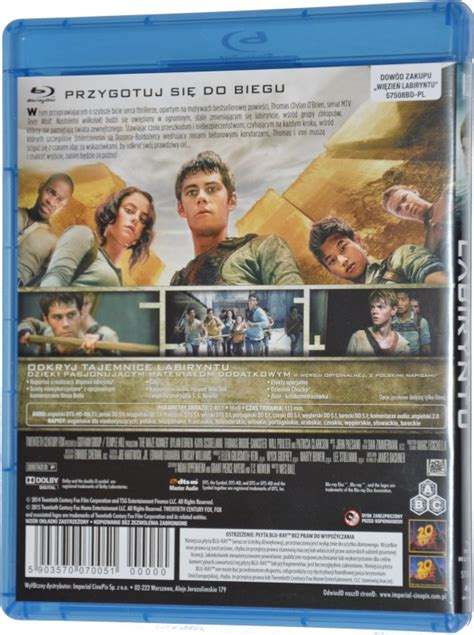 download film maze runner blu ray więzień labiryntu the maze runner 2014 film blu ray