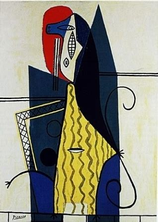 Picasso In An Armchair by 1000 Images About Discovering Pablo Picasso On