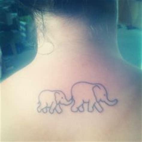 tattoo elephant mom mom and baby elephant outline tattoo google search i